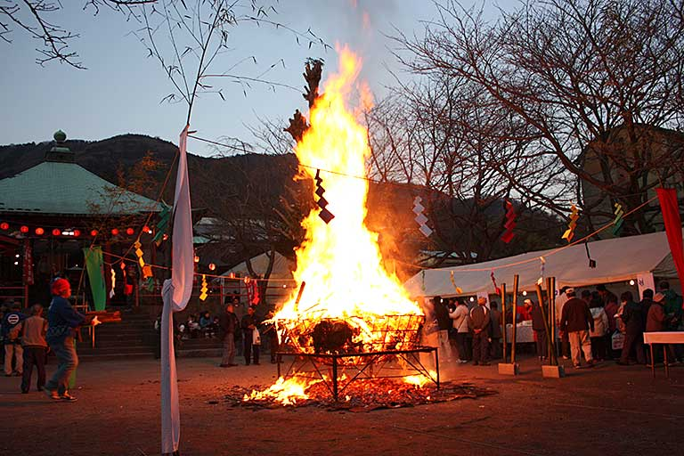 Yearly Festival of the Emmei temple Kannon