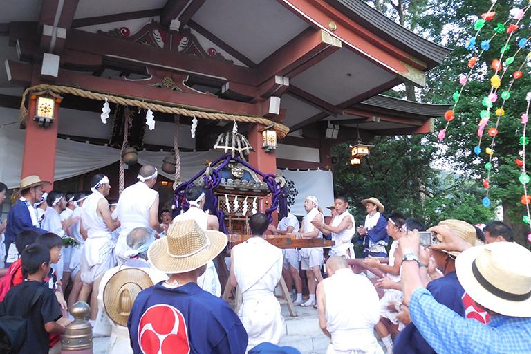 Yearly Festival of Samuta Shrine